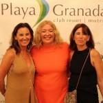 Paola , Inma y Alcaldesa