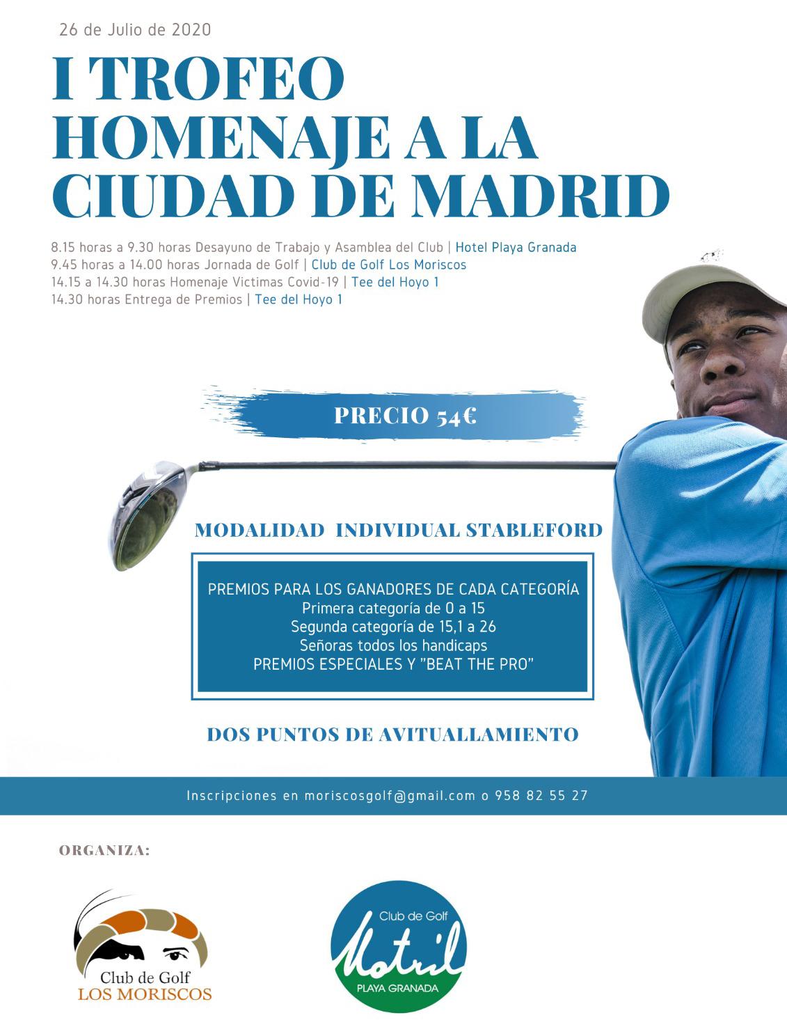 Torneo Homenaje a la ciudad de Madrid